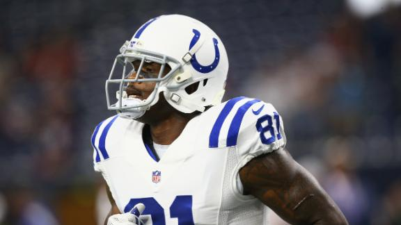 Colts' Johnson (2 TDs) leads way against Texans