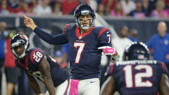 Hoyer the right QB to lead Texans?