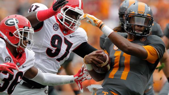 Vols come from 21 down to top Dawgs