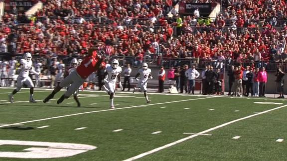 Braxton Miller makes ridiculous catch, scores TD on next play