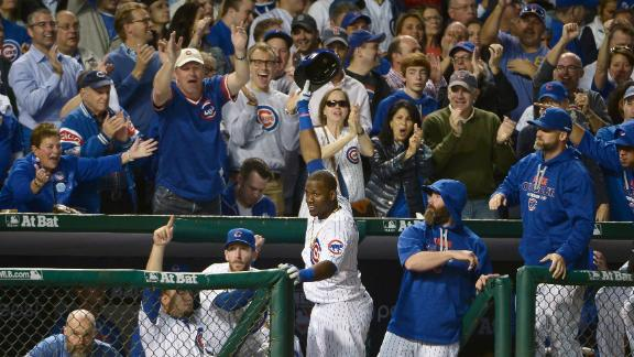 A home run party at Wrigley
