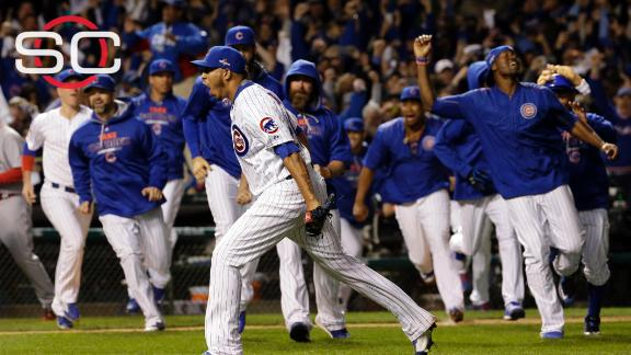 Cubs win! Cubs win! Beat Cards on way to NLCS