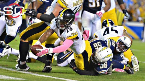 Bell's TD as time expires propels Steelers