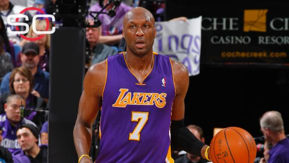 Odom unresponsive, hospitalized