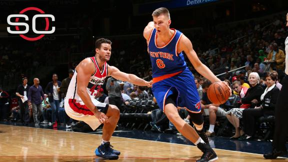 Fisher indicates Porzingis will start Knicks' opener