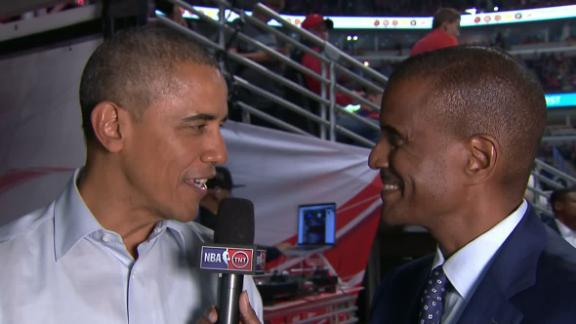Obama optimistic for Bulls' season