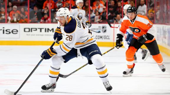Sabres top Flyers in OT