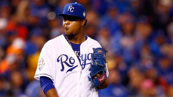 Father of Edinson Volquez passes away prior to Game 1