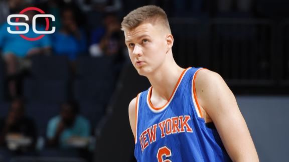 Rookie Porzingis to start Knicks' opener