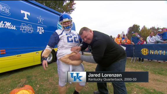 Ex-NFL QB Jared Lorenzen's lifelong battle with weight