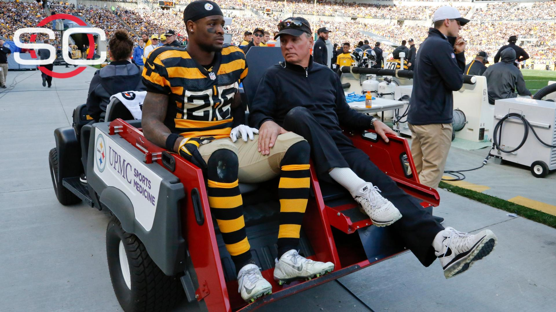 Expected recovery time for Le'Veon Bell