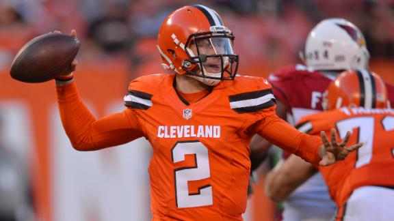 Manziel expected to start vs. Bengals