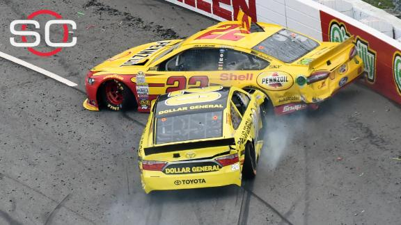 Kenseth suspended for two races after wrecking Logano