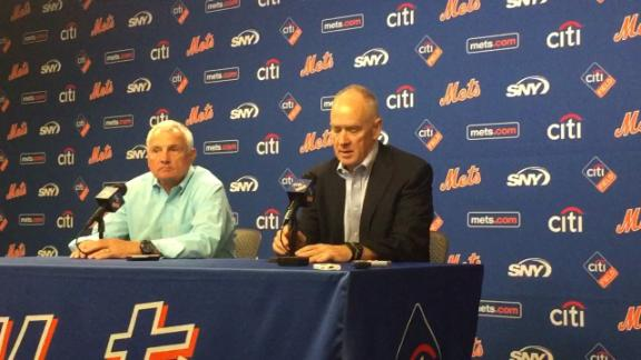 Terry Collins, Mets agree to contract extension
