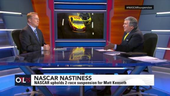 Kenseth's suspension threatening NASCAR's credibility