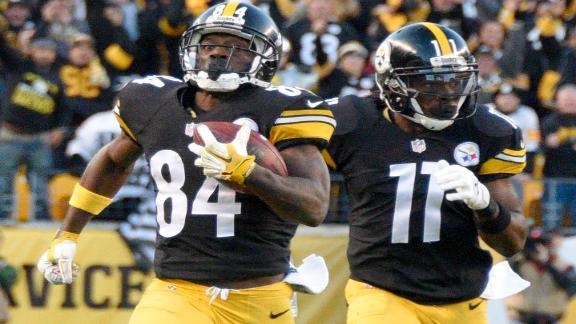 Steelers' offense explosive in Week 9