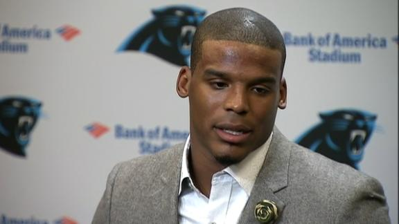 Newton on tearing down banner: 'Just a respect thing'