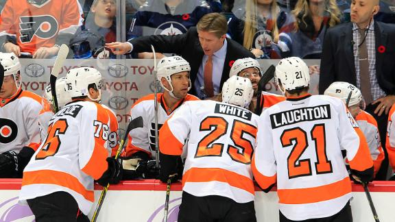 What's wrong with the Flyers?