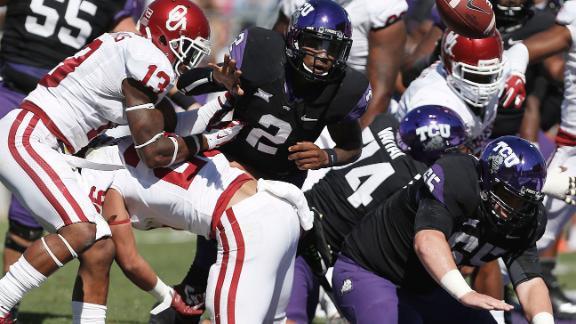 College football pick: TCU-Oklahoma