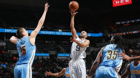 Tony Parker leads Spurs past Nuggets with a dash of scoring