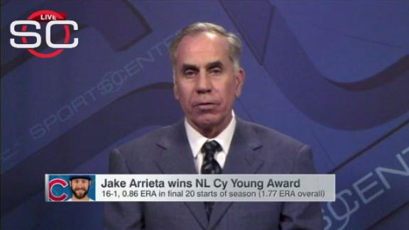 Arrieta's Cy Young completes good week for Cubs