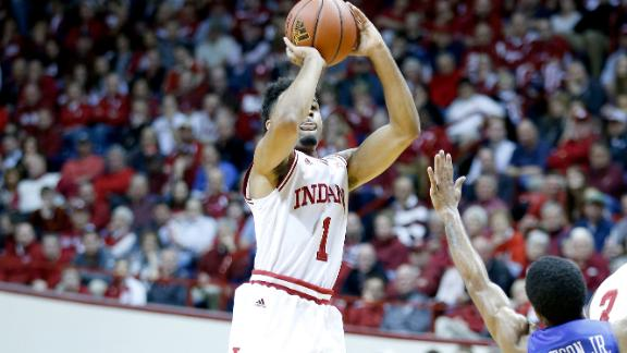 Indiana cruses past Creighton