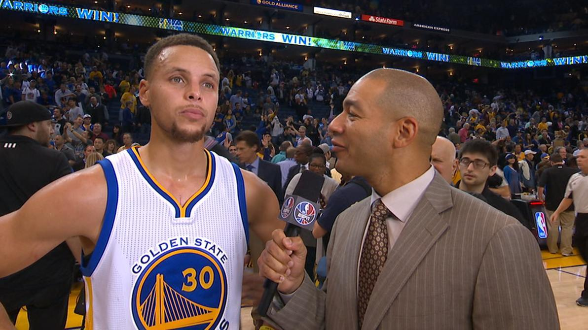 Curry we want to protect our home court espn video espn