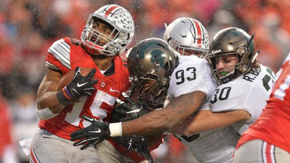 Ezekiel Elliott, Cardale Jones declare their final season after MSU loss