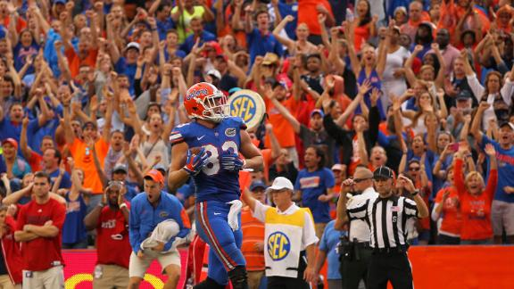 No. 8 Florida edges out Florida Atlantic in overtime