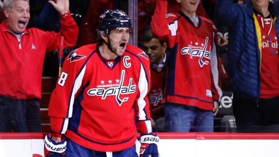 Capitals cruise past Avalanche
