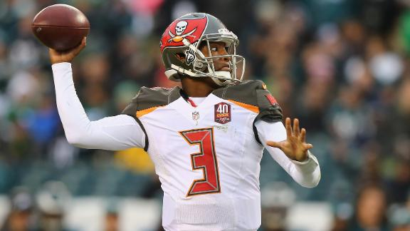 Winston tosses five touchdowns in rout