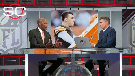 Louis Riddick: I would have cut the cord with Manziel already
