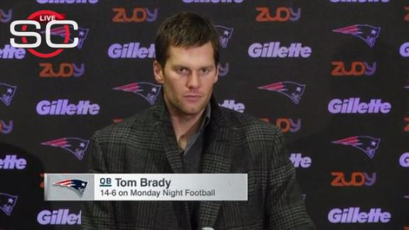 Brady reacts to questionable call, injuries