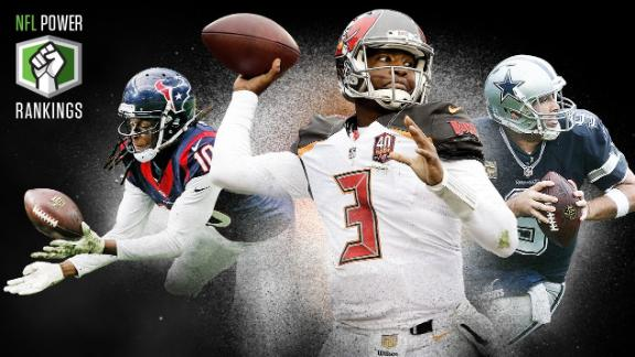 NFL Power Rankings: AFC South on the rise