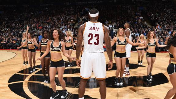 'Movember' Top 10 list, Cleveland Cavaliers edition