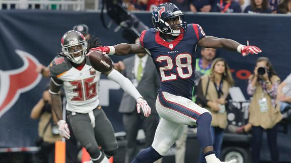 Alfred Blue a great flex play for Week 12 fantasy and beyond
