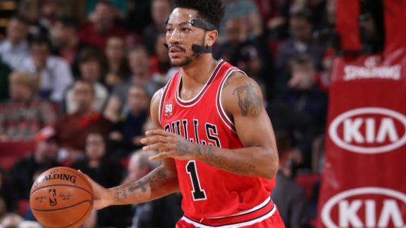 Bulls best Blazers in Rose's return