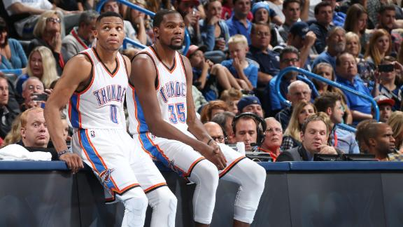 Kevin Durant and Russell Westbrook flip the switch against the …