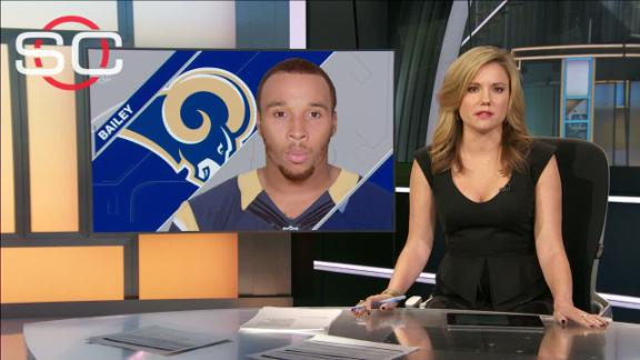 Rams on Stedman Bailey after shooting: 'That's basically our brother'