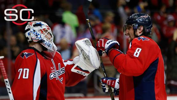Ovechkin, Capitals get by Jets