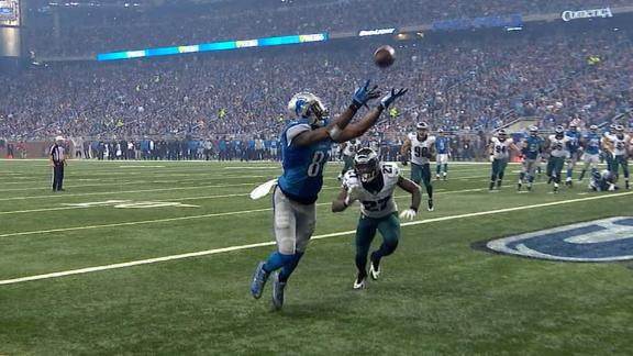 Megatron carving up the Eagles with third TD