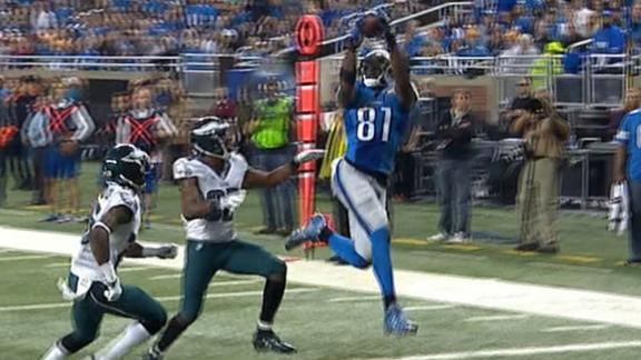 Rothstein: Stafford-to-Johnson connection returns in Lions rout