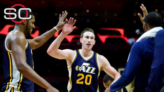 Jazz triumph despite Griffin's double-double