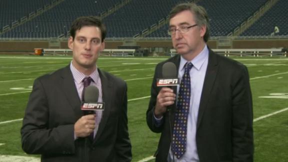 Video - Stafford, Megatron, Burton pick up game balls in blowout