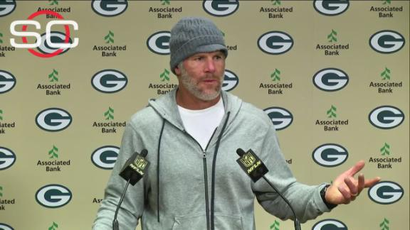 Favre on number retirement: 'It was a special night'