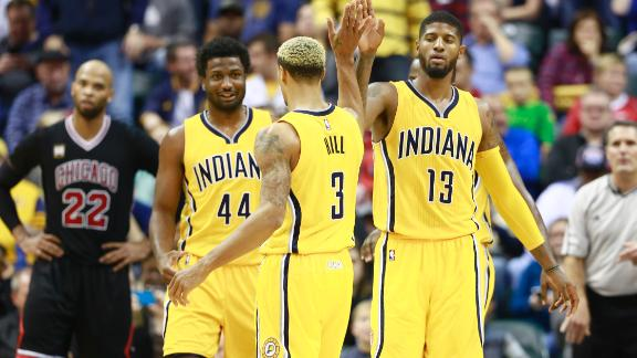 Bulls' offense falls flat against Pacers in Indianapolis