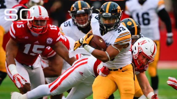 Iowa holds off Nebraska, improves to 12-0