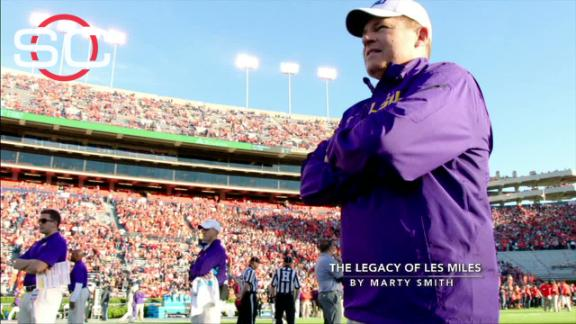 The legacy of Les Miles