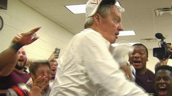 Frank Beamer takes 'The Dab' to next level