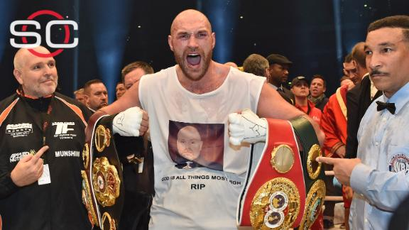 Fury beats Klitschko by decision to become new heavyweight champ